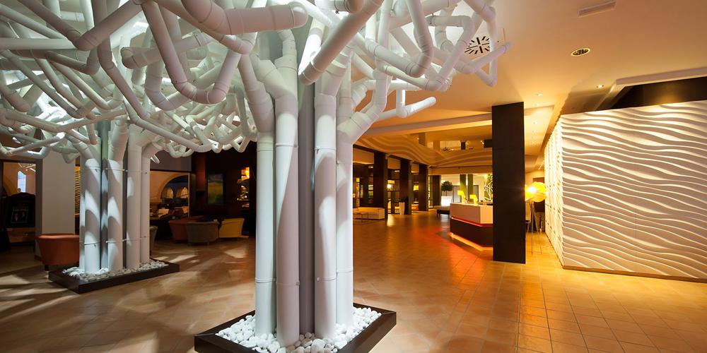Lobby Hotel Sensimar